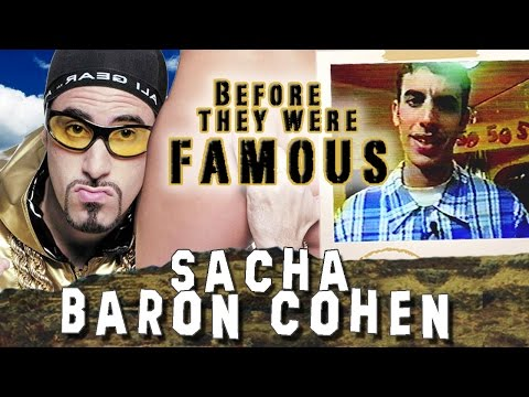 SACHA BARON COHEN - Before They Were Famous