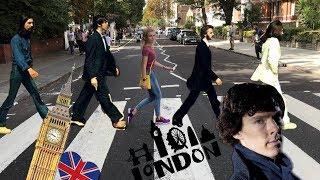 Первый день в Великой Британии🇬🇧// Лондон// что вообще здесь происходит?// Шерлок,все сошли с ума!