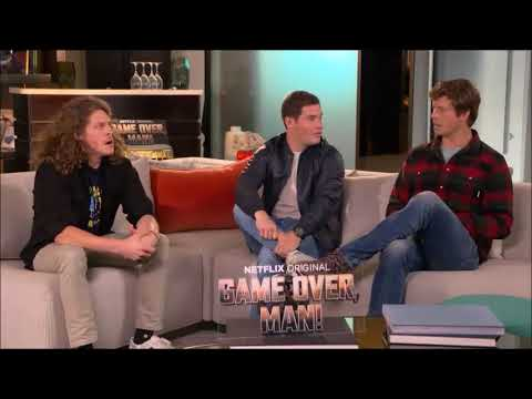 Game Over, Man! Sit Down Interview with Adam Devine, Anders Holm and Blake Anderson
