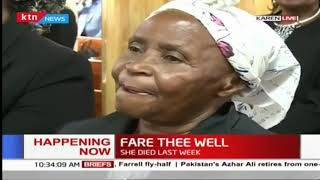 Fare thee well: Jane Kiano, the former Maendeleo ya Wanawake chair laid to rest