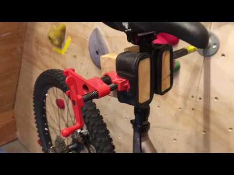 DIY Cheap Bike Repair Mechanic Stand Video