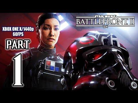 STAR WARS BATTLEFRONT 2 Walkthrough PART 1 (XB1 X) No Commentary @ 1440p (60ᶠᵖˢ) HD ✔