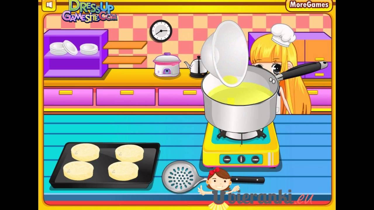 Gry dla dziewczyn  Gotowanie  Gry dla dzieci  YouTube -> Kuchnia Dla Dzieci Kinderkraft