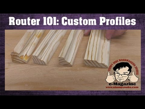 How To Make Custom Molding Profiles With Just A Few Basic