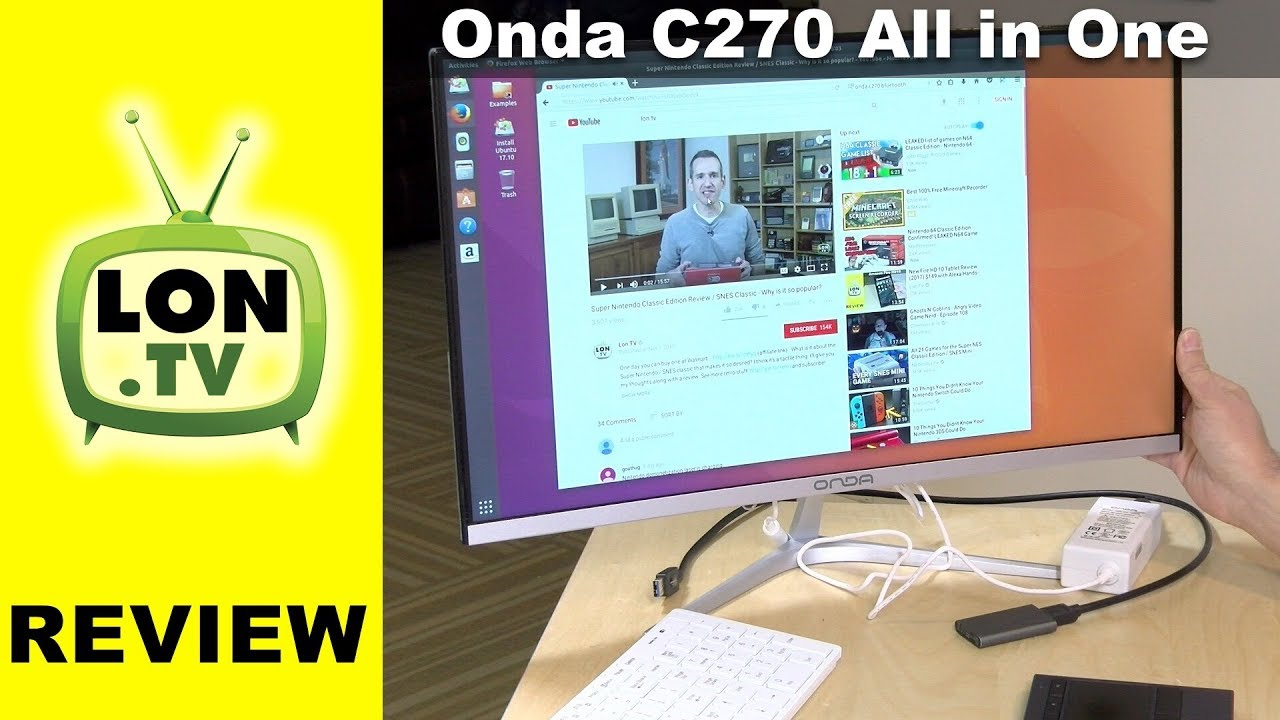 Onda C270 C27X All In One PC Review