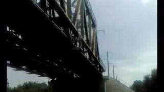 Прыжок Фомича с моста в Россоши.