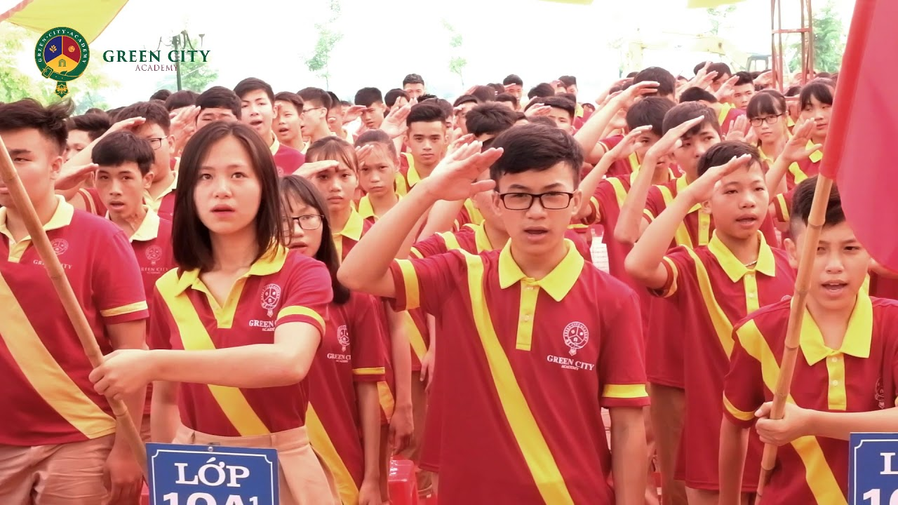 LỄ KHAI GIẢNG ĐẦY CẢM XÚC CỦA Green City Academy