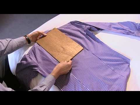 TMLewin How to Fold a Shirt YouTube
