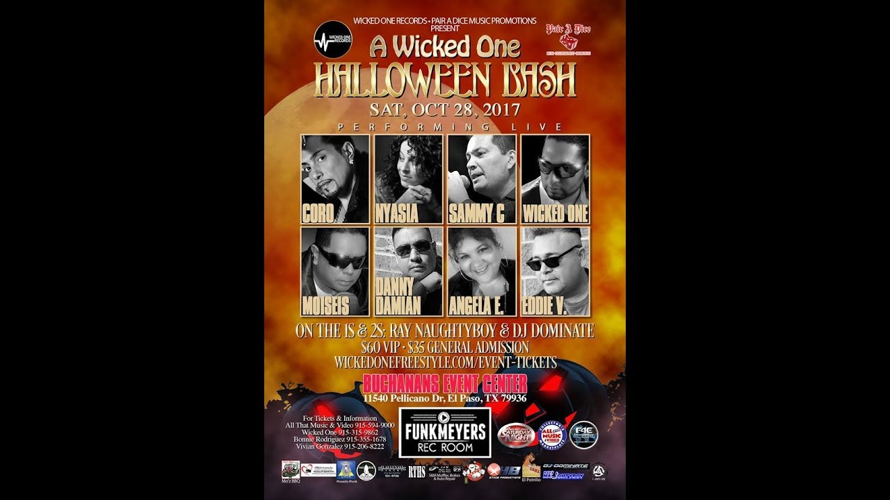 wicked one halloween bash 2017 - youtube