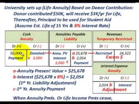 Not For Profit Accounting (Colleges & Universities, Basic Ac