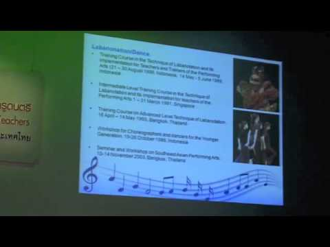 Forum on ASEAN Traditional Music and Dance for Music Teachers 1/1