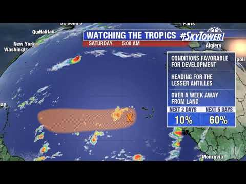 Tropical Weather Forecast & Dorian Update: September 7, 2019