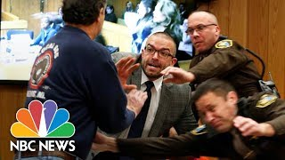 Larry Nassar Victims' Father Tries To Attack Former Doctor In Court