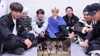 [FAKESUB REACTION] BTS reaction to BLACKPINK - 'Lovesick Girls' DANCE PARTICE VIDEO [Fanmade]