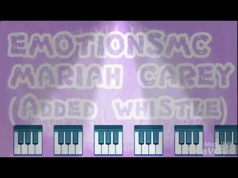 Mariah Carey Emotions (Whistle added)