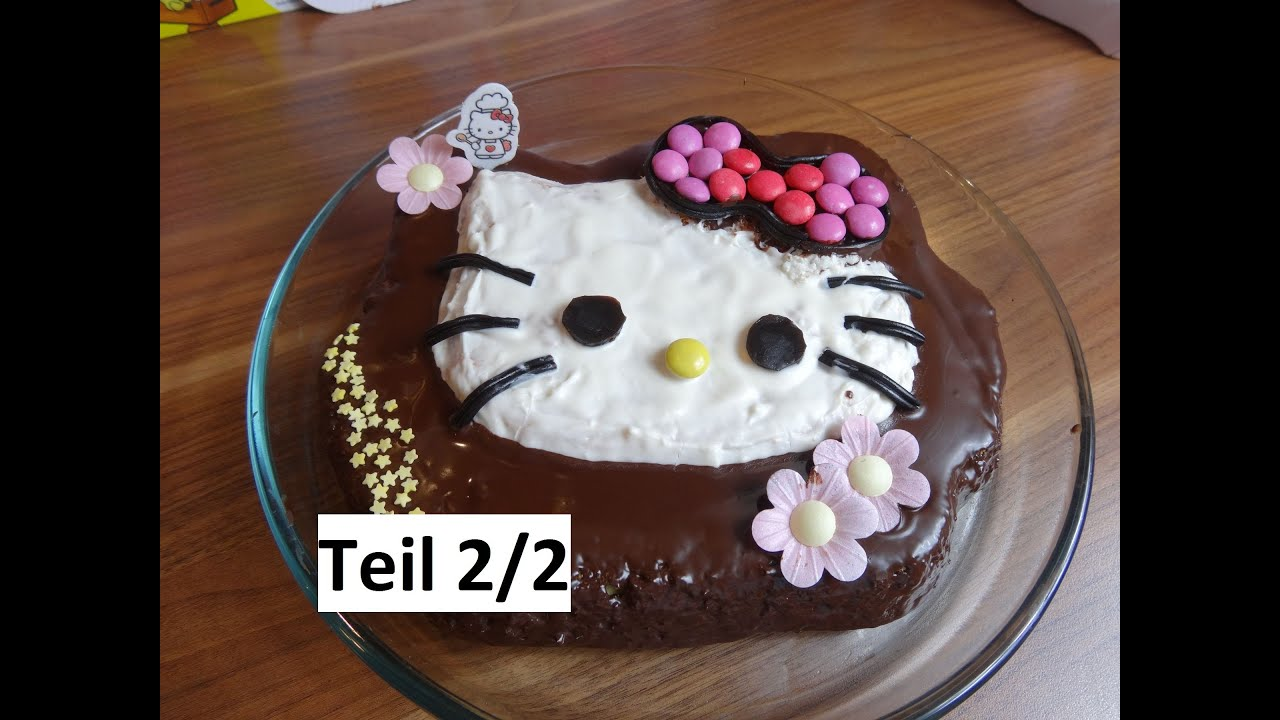 How Make A Hello Kitty Cake