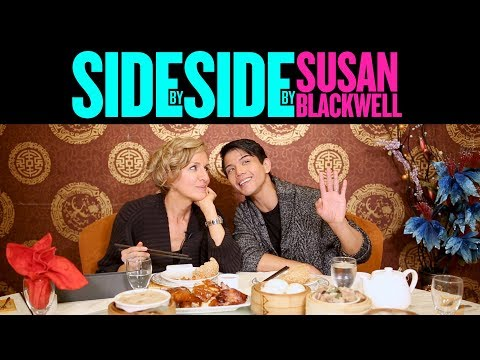 SIDE BY SIDE BY SUSAN BLACKWELL: Telly Leung of ALADDIN