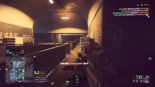 Battlefield 4 (ps4) Quickscope #2