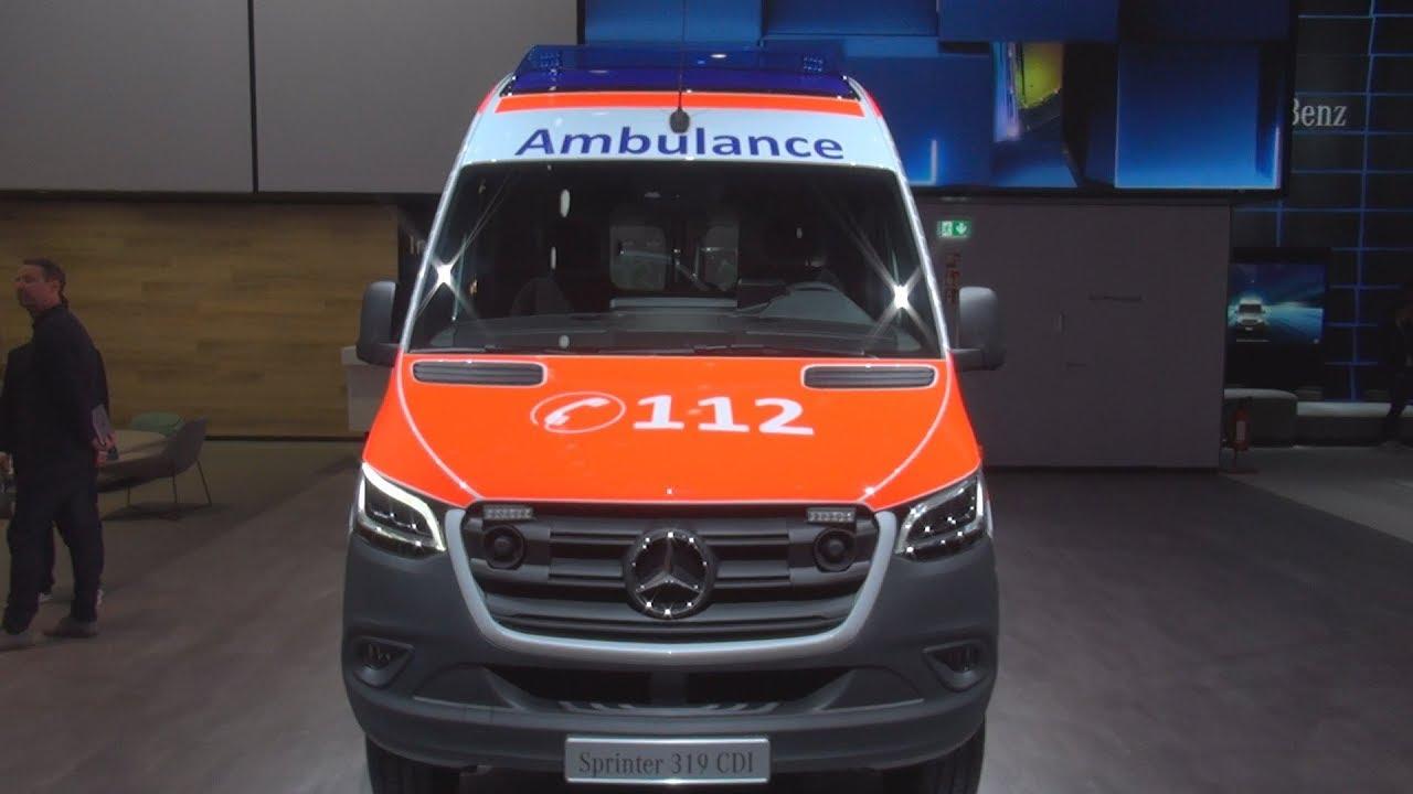 902192a0ab Mercedes-Benz Sprinter 319 CDI 4x4 Ambulance (2019) Exterior and Interior