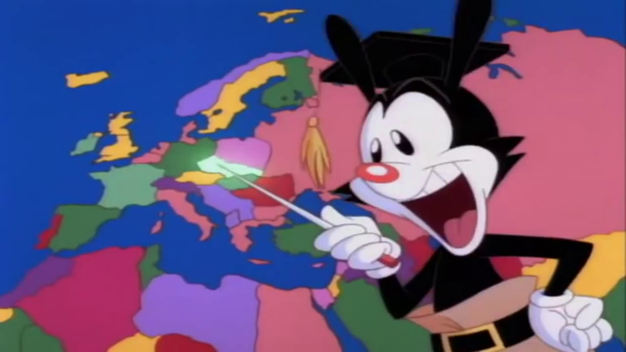 yakko warner nations of the world but its only the countries