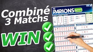 COMMENT GAGNER UN COMBINÉ de 3 Matchs ? (Paris Sportifs TUTO)