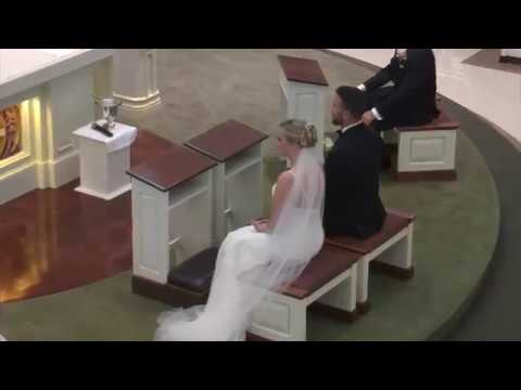 Sacrament of Matrimony ~ Jennifer O'Neil & Mathew Roderick