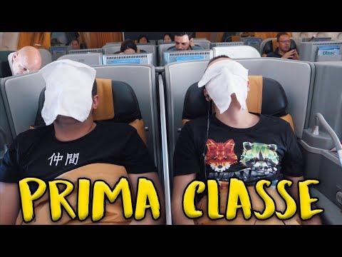 LA CLASSE PIU' LUSSUOSA DI ALITALIA - In VOLO verso TOKYO!
