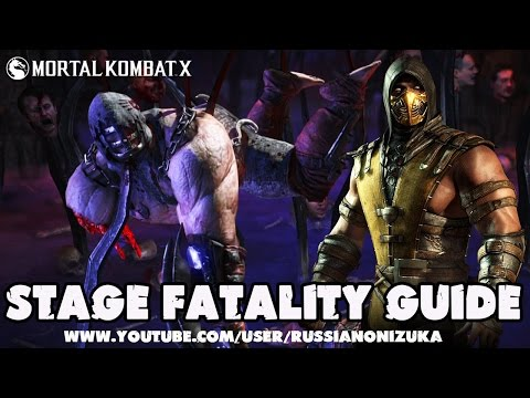 Stage Fatality Guide - Scorpion - Mortal Kombat X
