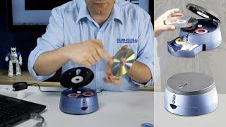 Comment réparer un CD/DVD ou blu-ray rayé ? TEST EXTREME du kit de réparation Q-Sonic [PEARLTV.FR]