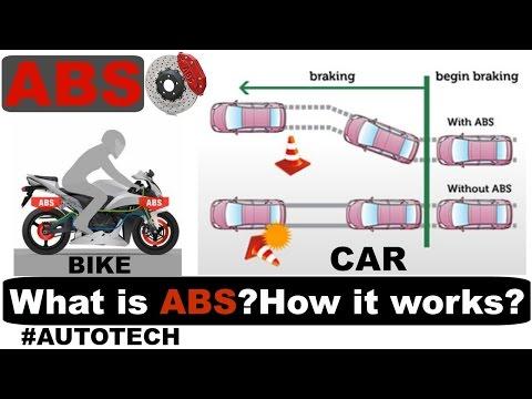 ABS Anti Lock Braking System क्या है ? कैसे काम करता  है ? ABS in car & Bike #AUTOTECH