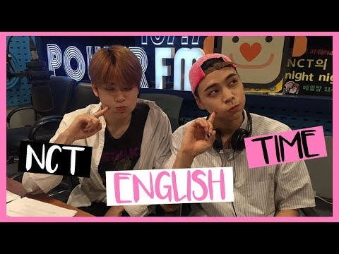 NCT ENGLISH TIME