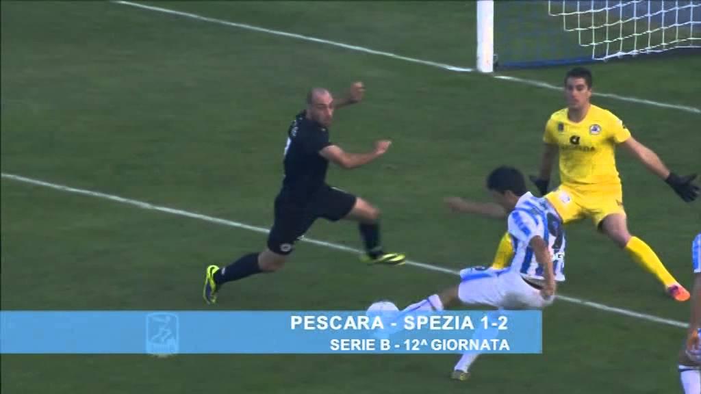 Pescara - Spezia 1-2 - YouTube