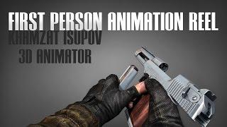 Khamzat Isupov ♦ first person animation reel 2013/2015