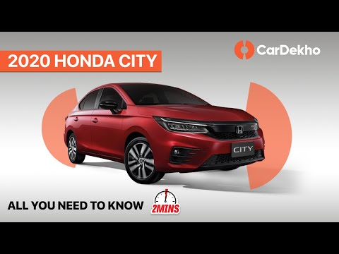 Honda CIty 2020 Unveiled! | Price, Launch Date & more | #in2mins