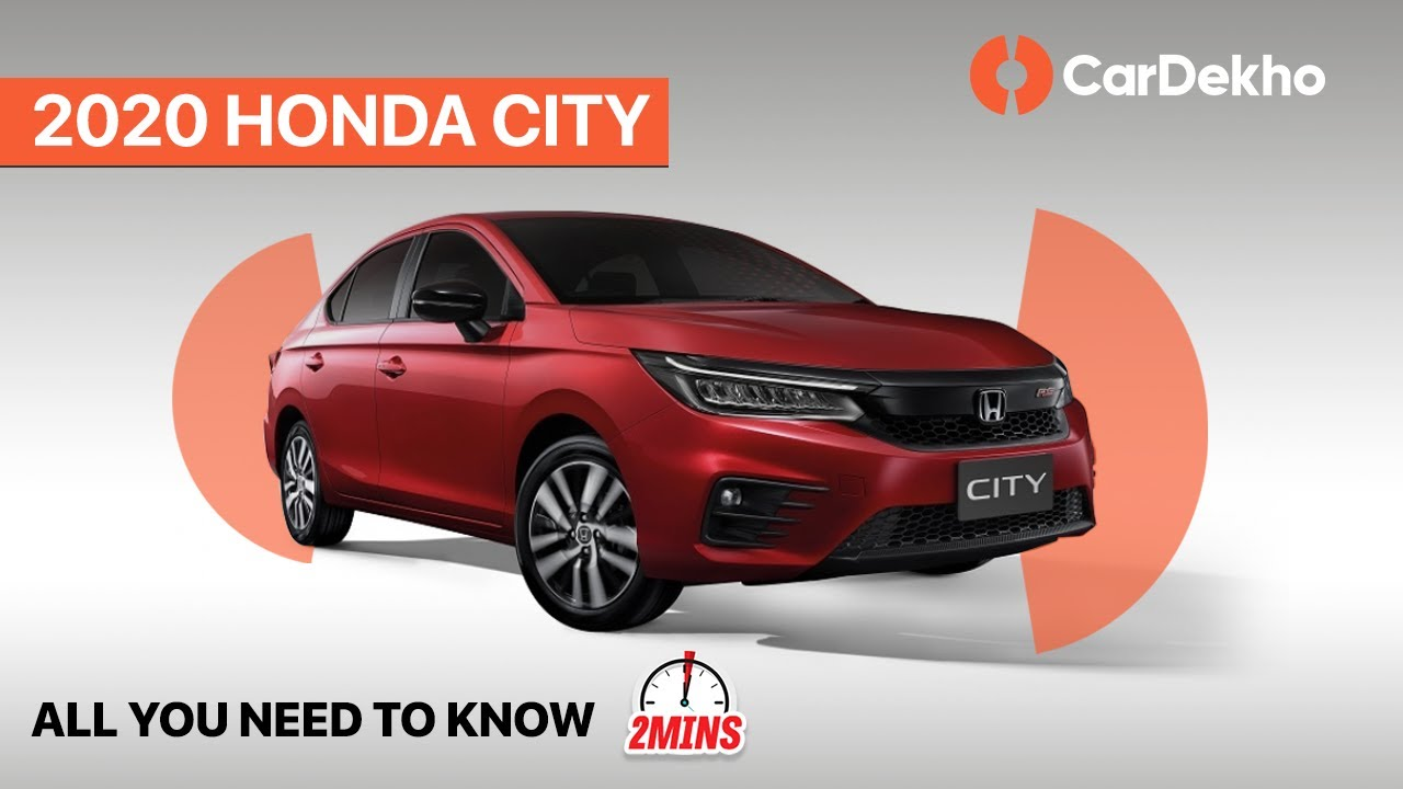 Honda City 2020 Unveiled Price Launch Date More In2mins Youtube