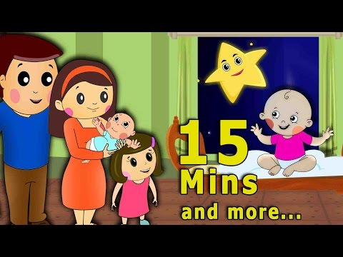 Finger Family & Other Most Popular Nursery Rhymes (HD) |15 Minutes & more Shemaroo Kids