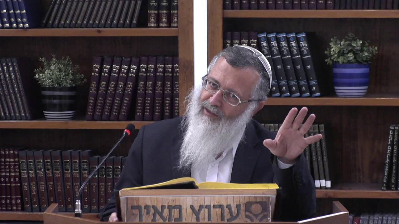 הרב מרדכי ענתבי הלכות שבת - שולחן ערוך - שיעור 18