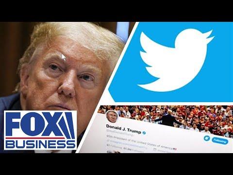 FOX Business panel slams Twitter for using CNN, WaPo to fact check Trump