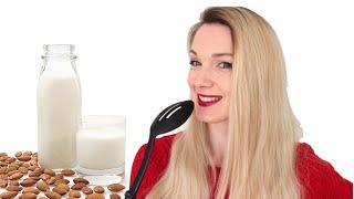 Как сделать миндальное молоко?(Подробности к видео ↓↓↓↓↓↓↓↓ Блендер у меня фирмы Phillips http://goo.gl/9oZwZJ Миндаль (сырой, не..., 2015-05-07T22:30:00.000Z)