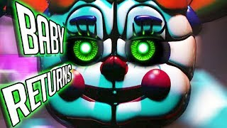 FNAF Sister Location 2 CONFIRMED! 😱 - BABY RETURNS BUT WHAT DOES IT MEAN? (Five Nights at Freddy