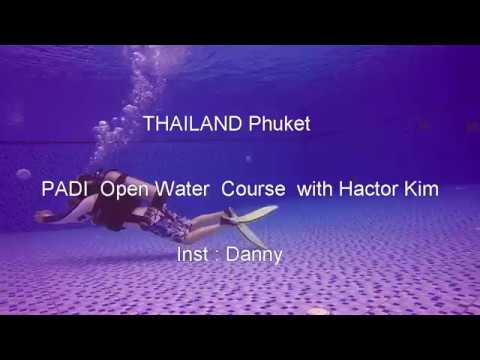 PADI Open Water Course  with  hector KIMphuket THAILAND