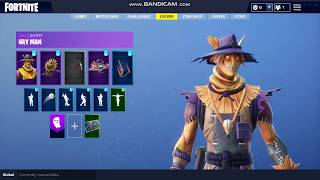 ONE SPOOPY BOY| NEW LEAKED SCARE CROW SKIN *hay man*| Fortnite