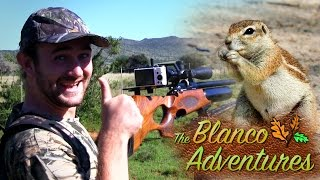 Airgun Hunting: African Ground Squirrels | The Blanco Adventures, Episode 3