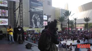 august alsina bayou classic fan festival q93 2013 part 1