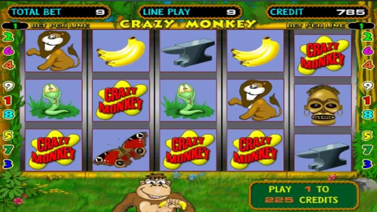 Грати онлайн crazy monkey безкоштовно