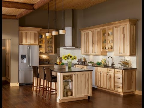 Ordinaire Light Wood Cabinets