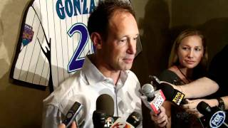 Luis Gonzalez' #20 retired by the Arizona Diamondbacks