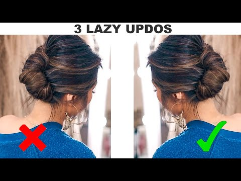 ★3-updos-for-lazy-but-classy-girls!-🌲-(quick-holiday-hairstyles-how-to-tutorial)