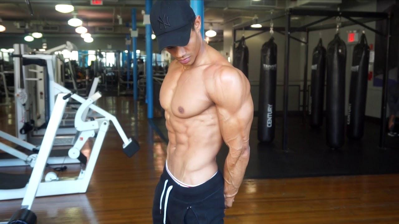 d2a412a5c39 chest flex. Donovan Michaels