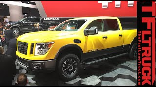 Watch the 2016 Nissan Titan Debut at the Detroit Auto Show